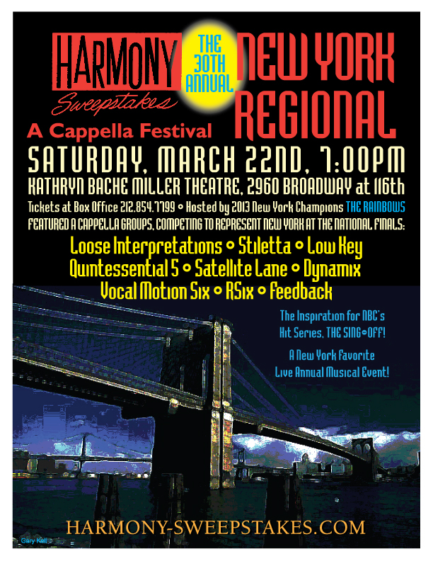 2014 New York Harmony Sweepstakes A Cappella Festival
